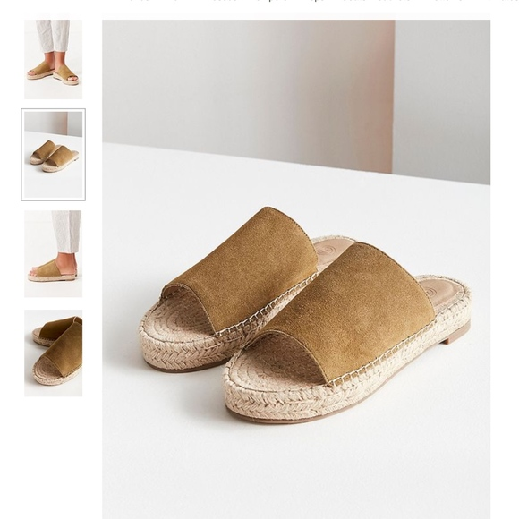 afe3faed3510 Urban Outfitters Mimi Espadrille Slides